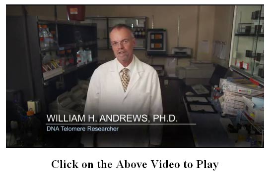 Bill Andrews IsaGenix Product B Telomeres Video