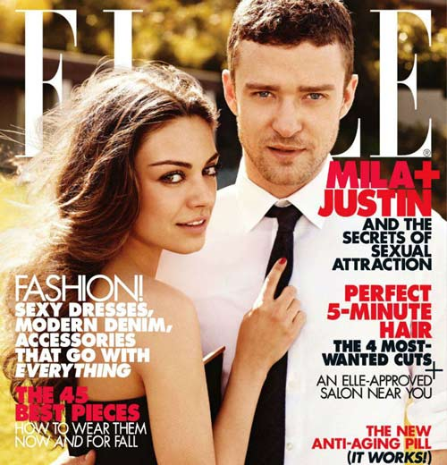 Elle Magazine Cover Telomeres Article